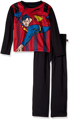 DC Comics Boys' Big Superman Knock Out Pajama