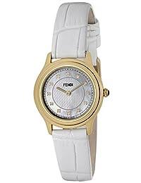[Fendi] FENDI watch Classico round white pearl dial diamond F250424541D1 Ladies [parallel import goods]