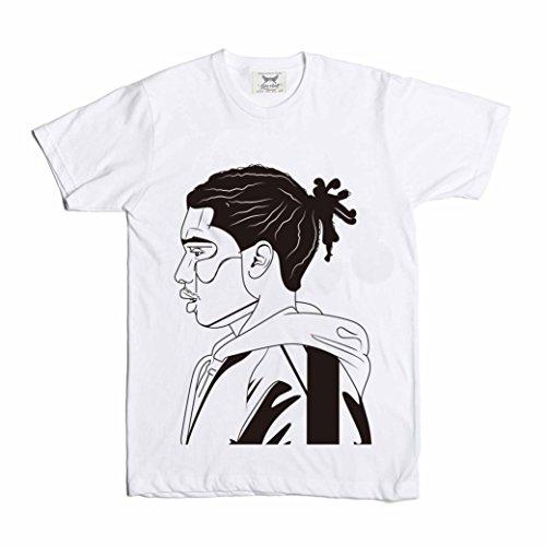 Babe White T-shirt (ASAP Rocky (A$AP Mob) Tee (Unisex) // ASAP MOB (S, White))