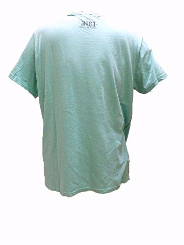 Camp David T-Shirt Global Traveller III Fresh Teal CCG-1704-3160 XXL