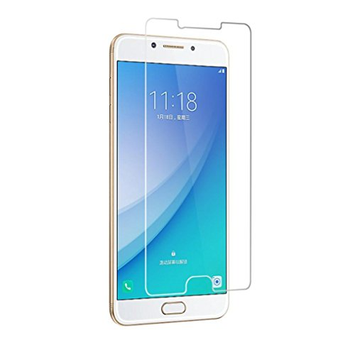 Price comparison product image Coohole 1PC Tempered Glass Screen Protector Protective Film Cover For Samsung Galaxy C7 Pro