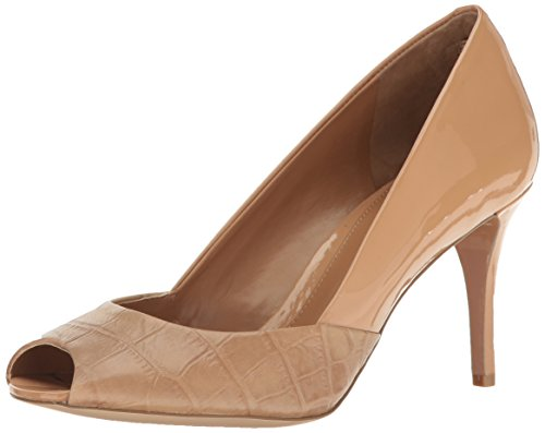 High Heels Lauren (Lauren Ralph Lauren Women's Ronna, Safari tan 7.5 B US)