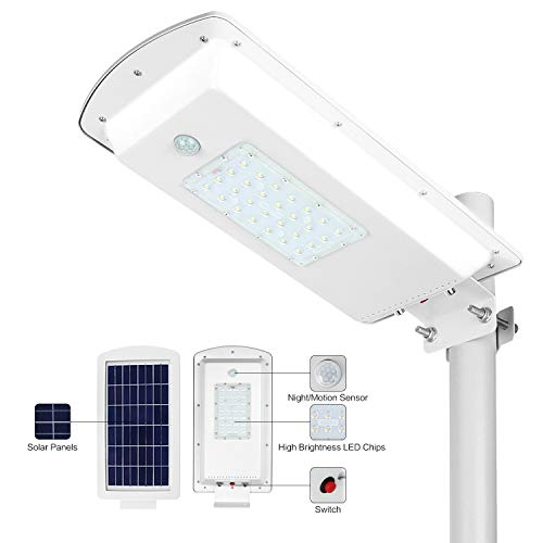 Street Light With Solar Panel