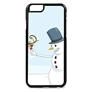 Case Fun Case Fun Christmas Hungry Snowman Snap-on Hard Back Case Cover for Apple iPhone 6 4.7 inch