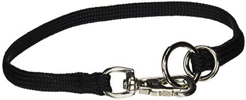 Resco Professional Braided Nylon Snap Choke Collar for Dogs, 16
