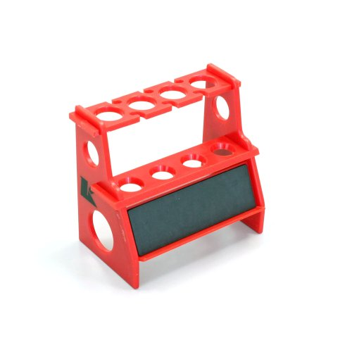 Kyosho Shock Rebuild Stand with Magnet, Red