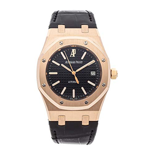 - Audemars Piguet Royal Oak Mechanical (Automatic) Black Dial Mens Watch 15300OR.OO.D002CR.01 (Certified Pre-Owned)
