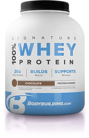 BodyBuildingCom Signature 100 Whey Protein Powder