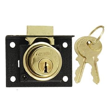 eDealMax Buzón Gabinete de salvaguardia 4/5 Cilindro cajón de bloqueo de teclas
