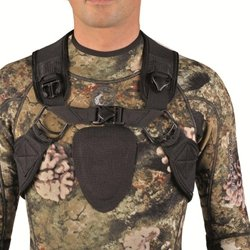 Sporasub Sea Green Quick Release Back Harness CAMU 3D Camouflage Weight Vest