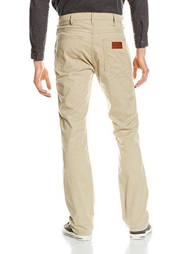 Wrangler Jeans Beige Uomo Straight Stretch Arizona fq6Pwrxf