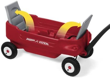 Amazon.com: Radio Flyer Deluxe All-Terrain Pathfinder vagón ...