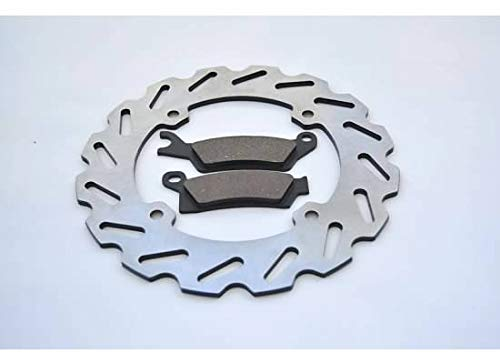 2012 2013 2014 Can-Am Outlander 1000 EFI XT Rear Sport Brake Rotor & Brake Pads by CycleATV