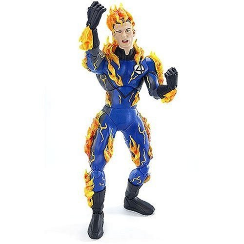 Fantastic 4 Movie Series II Deluxe 12' Figure: Human Torch (Decorated) by Toys