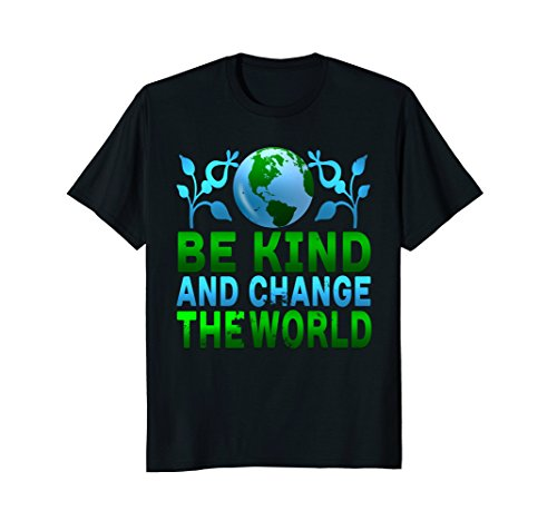 Awesome Be Kind Change The World Peace Kindness T ()