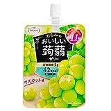 Tarami delicious konjac jelly Muscat taste 150gX6