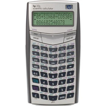 HP 33S Scientific Calculator (F2216A)