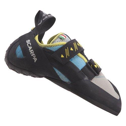 Scarpa Women's Vapor V Climbing Shoe, Turquoise, 38 EU/7 M US