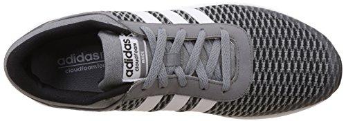 adidas Cloudfoam Race, Zapatillas de Deporte Interior para Hombre Negro (Black)