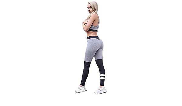 Yusealia Yoga Mujer DeportivaS Pantalones, Medias Elásticas ...