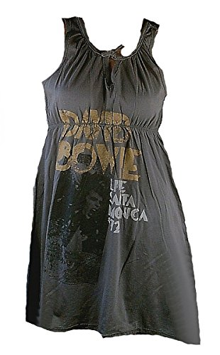 Dress Waisted Damen Elegantly Grau 72 David Amplified Tour Santa Official Bowie Monica 1972 Live Kleid Shirt qFwtn5E