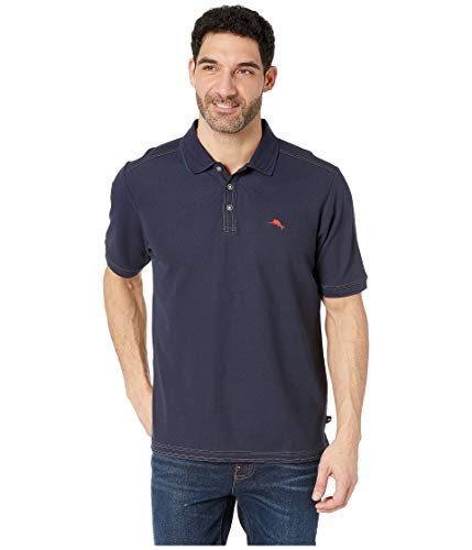 Tommy Bahama Men's The Emfielder Polo (X-Large, Blue Note) (Tommy Bahama Polo)