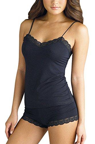 OUGES Women Lingerie Shorts Two Piece