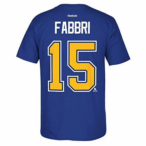 Robby Fabbri St. Louis Blues Men's Player Jersey T-Shirt - Royal ()