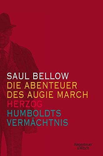 Drei Bände im Schmuckschuber: Humboldts Vermächtnis, Augie March und Herzog