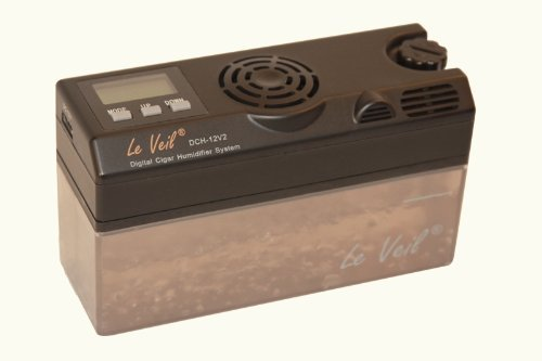 Le Veil Dch-12v2 Digital Cigar Humidifier W/extra Tank
