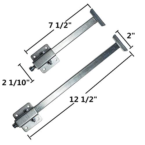 Homydom Complete Sink Repair Kit System - Never Fall Undermount Sink Installation Kit-Sink Bracket for kitchen,Silver by Homydom (Image #6)