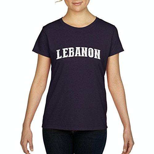 Lebanon T-Shirt Lebanon Lebanon Women's T-Shirt - Clothing List Lebanon