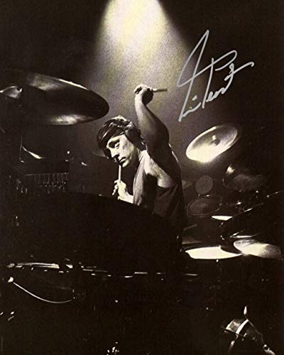 Neil Peart drummer of RUSH reprint signed 8x10 photo #3