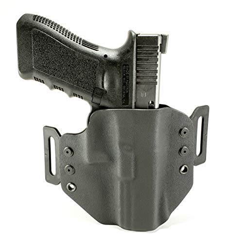 Tru-Fit Tactical OWB Gun Holster (Black)