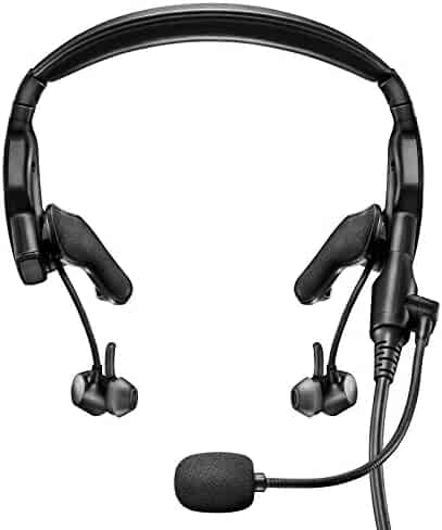 Bose ProFlight Aviation Headset, with dual plug, Black