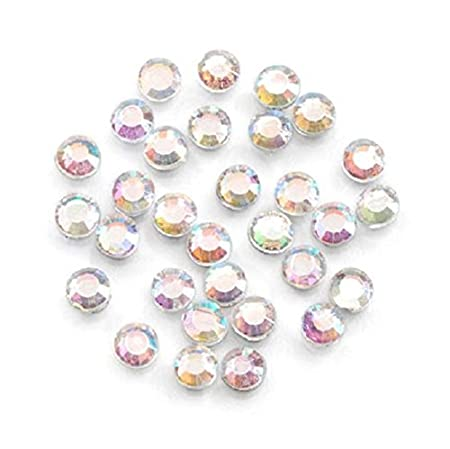Hot Fix Crystals Glass Stones - 3mm - 1000/pck (Multi-Colored) Darice PD2704-82