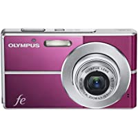 Olympus FE-3010 12MP Digital Camera with 3x Optical Zoom and 2.7 Inch LCD (Magenta) Overview Review Image