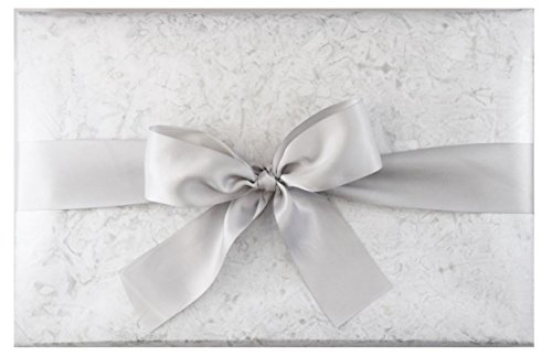Gift Wrap 2 Rolls - BEST LUXURY GIFT WRAP ROLLS: NATURAL MARBLE PREMIUM (SET OF 2 ROLLS)