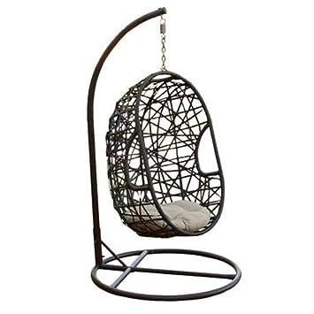 Best Selling Egg Shaped Outdoor Swing Chair Amazon Co Uk Garden