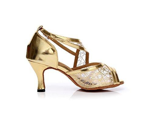 Miyoopark , Salle de bal femme - Or - Gold-7.5cm Heel, 35 EU EU