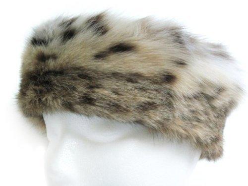USA Lynx Neck Warmer//Collar /& Headband