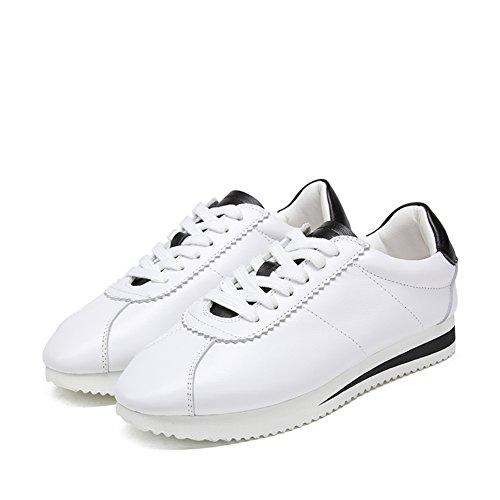 Zapatos ocasionales de las mujeres/Fondo plano zapatos/Versión coreana de zapatilla de deporte A