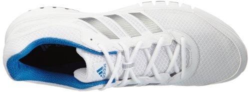 adidas Duramo 6 M, Chaussures de running homme Blanc - Weiß (Running White/Running White/Tech Grey Met. S14)