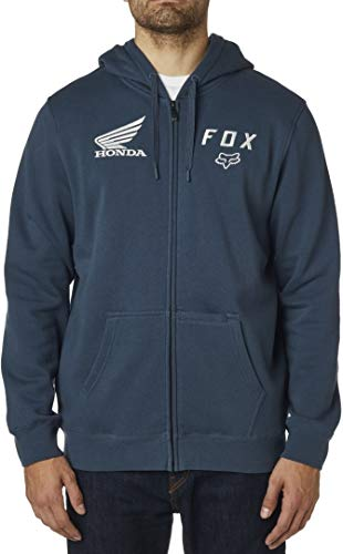 Fox Racing 2020 Honda Zip Hoody, Navy, Large