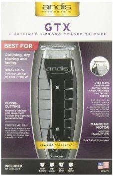 Andis 4775 Gtx T-Outliner Trimmer, Black