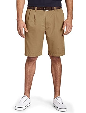 Dockers Men's Classic-Fit Big and Tall Double Pleat Short, New British Khaki, 52W