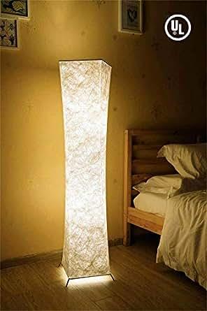52 Quot Fabric Led Floor Lamp Bi Light Softlighting
