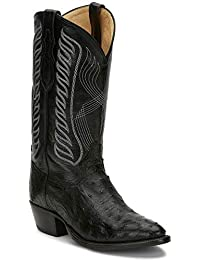 Men's Mccandles Western Boot Round Toe Black 10 D