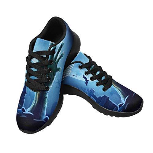 Women's Design Sneaker Running InterestPrint Custom 2 f0w7nAq