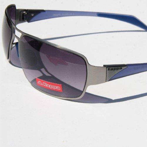 Kappa Sonnenbrille 0108 C2 silber blau jFAkF